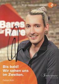 Fabian Kahl aus Bares für Rares